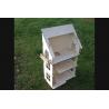 Домик для кукол 50*90*26 с лестницами и балконами