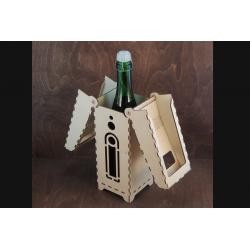 Коробка для бутылок Ракета