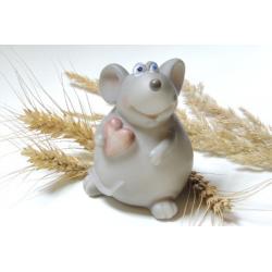 Форма 3D Мышка с сердечком