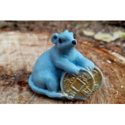 Форма 3D Мышка с монетками