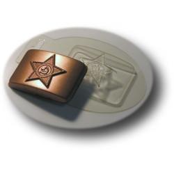 Форма для шоколада Бляха малая