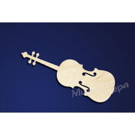 Заготовка для декупажа Бирка Скрипка