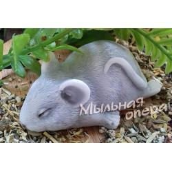 Форма 3D Мышка спящая