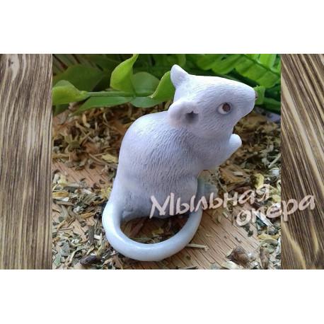 Форма 3D Мышка сидящая