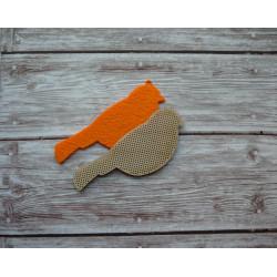 Заготовка для вышивки Елочная игрушка (Птица)