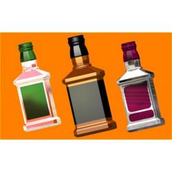 Форма ПВХ Бутылка виски