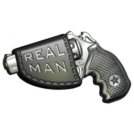 Форма ПВХ Пистолет Real man