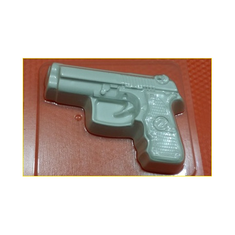 Форма ПВХ Пистолет малый