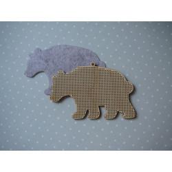Заготовка для вышивки «Медведь»
