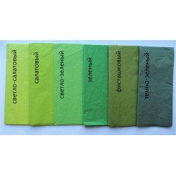 Бумага тишью Зеленый