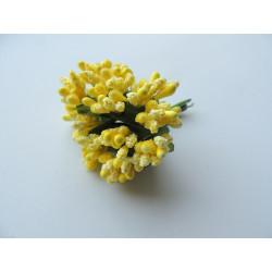 Искусственные тычинки Лимонный