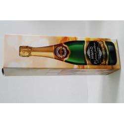 Коробочка под бутылочку Шампанское 4*4*14