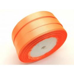 Лента атласная, 12 мм, оранжевая