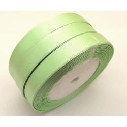 Лента атласная, 12 мм, светло-зеленая