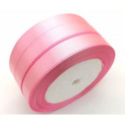 Лента атласная, 12 мм, светло-розовая