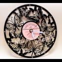 Часы с основой из грампластинки